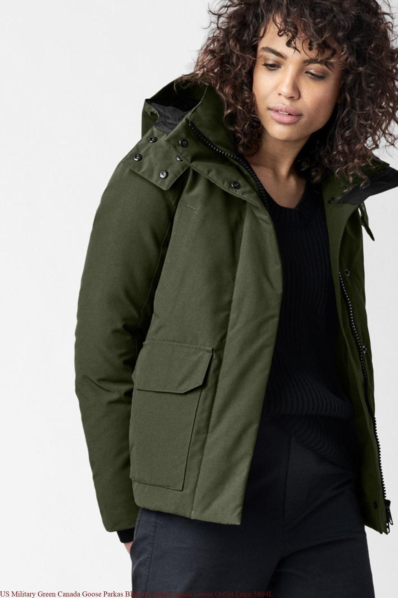 6a76400b55a7 US Military Green Canada Goose Parkas Blakely Parka Canada Goose Outlet  Legit 5804L
